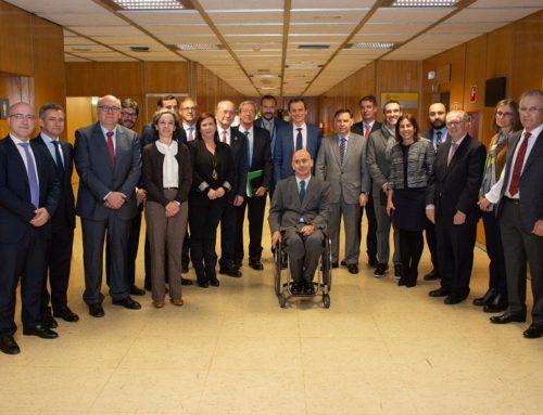 Encuentro con el ministro de Ciencia, Innovación y Universidades, Pedro Duque