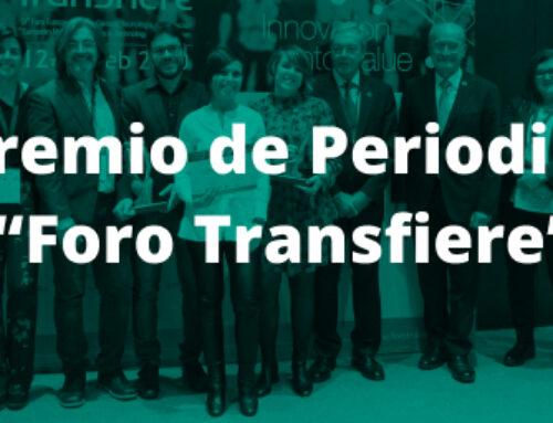 VI Premio de Periodismo 'Foro Transfiere'