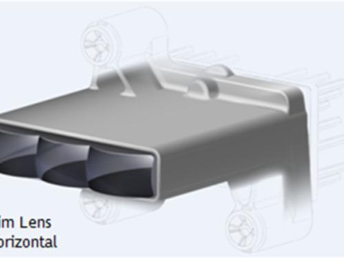 Módulos de iluminación SLIM para automóvil